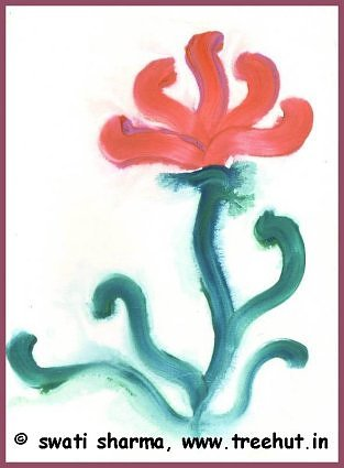 water color floral painting
