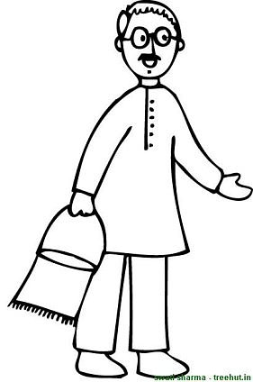 people coloring pages