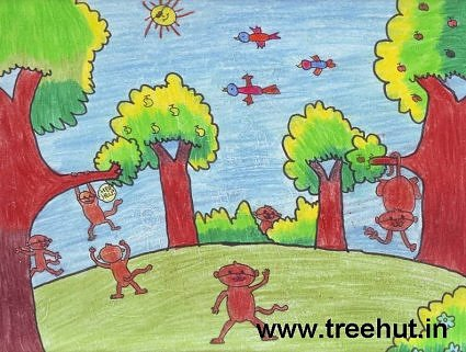 kids art by Gaurie Singh India