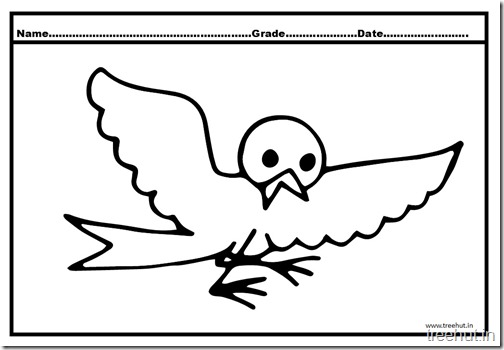 Flying Birds Coloring Pages (1)