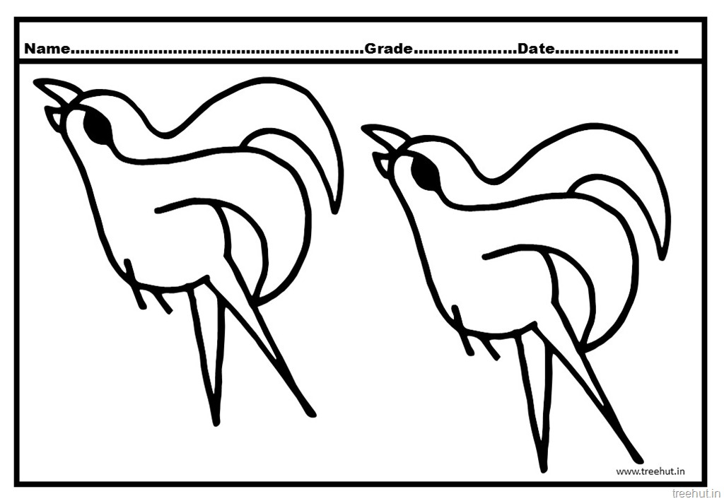Great Flying Bird Coloring Pages With Flying Bird Coloring