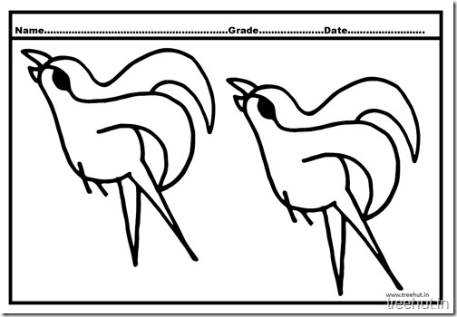 Flying Birds Coloring Pages (4)