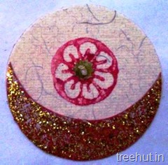 block printing rakhi ideas kids craft
