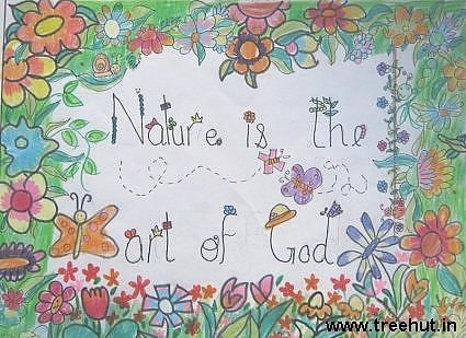 nature is gods art by Annoushqa Bobde lucknow india