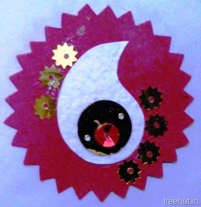 Handmade Paper Rakhi Craft Ideas For Kids