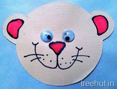 bear paper rakhi craft for pre schoolers (2)