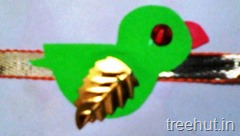 bird rakhi craft for kids (1)