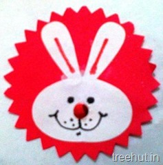 bunny rabbit rakhi craft for kids (1)