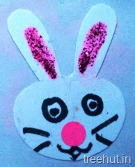 bunny rabbit rakhi craft for kids (2)