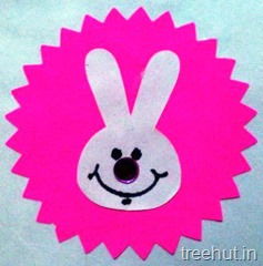 bunny rabbit rakhi craft for kids (3)