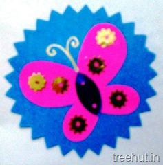 butterfly rakhi craft making (3)
