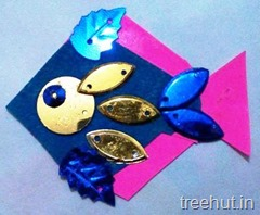 fish rakhi craft ideas for children (1)