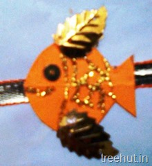 fish rakhi craft ideas for children (2)