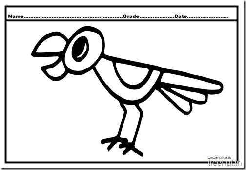 Parrot Coloring Pages (3)
