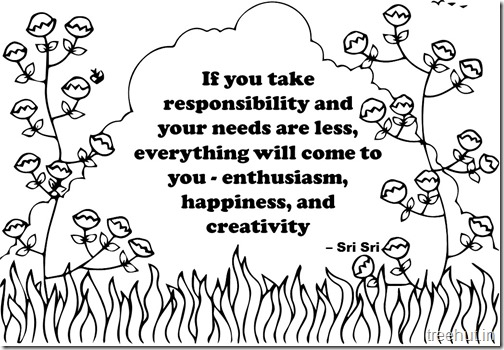 Creativity Quotes Coloring Pages Sri Sri Ravi Shankar  (10)