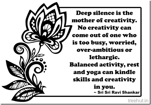 Creativity Quotes Coloring Pages Sri Sri Ravi Shankar  (1)