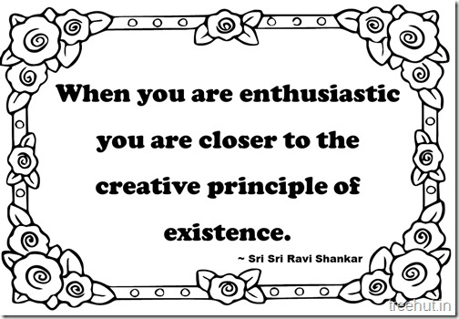 Creativity Quotes Coloring Pages Sri Sri Ravi Shankar  (3)