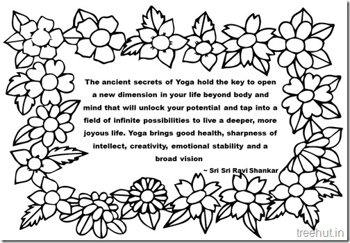 Creativity Quotes Coloring Pages Sri Sri Ravi Shankar  (4)