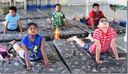 The Art of Living Yoga and Meditation Workshop for children