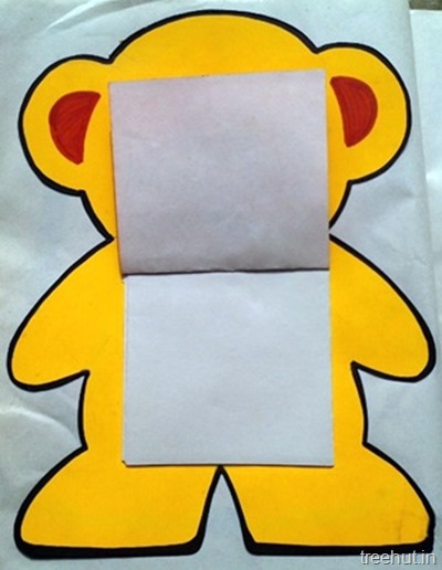 bear notepad craft for kids 2