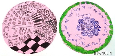 diy zentangle art
