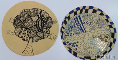 how to boost creativity with daily art zentangle