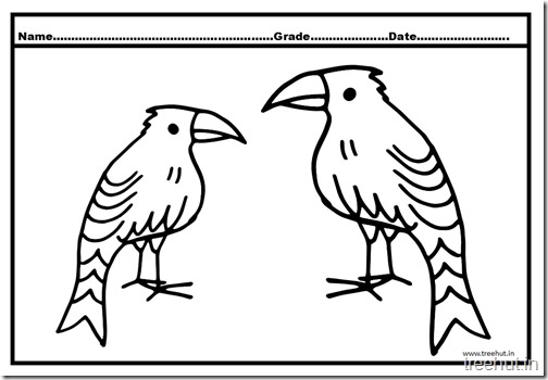 Eagle coloring pictures (3)