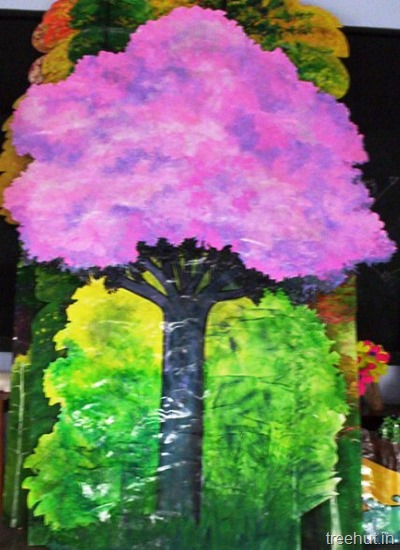 School Stage Backdrop And Props