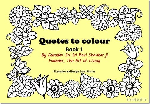 Quotes to Color 1, By Sri Sri Ravi Shankar ji