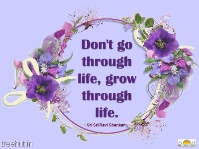 quote grow through life by-sri-sri-ravi-shankar