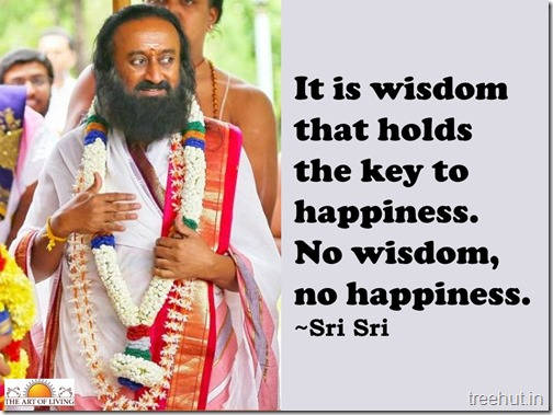 Knowledge quotes wallpaper by sri sri Ravi Shankar (1)