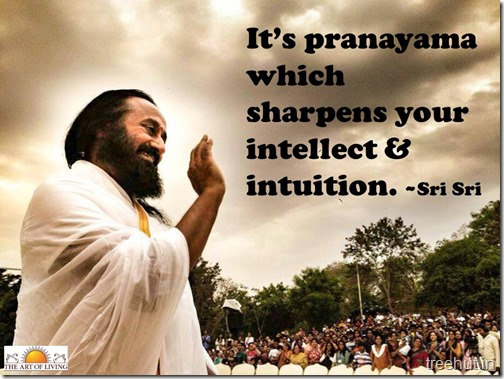 Knowledge quotes wallpaper by sri sri Ravi Shankar (4)