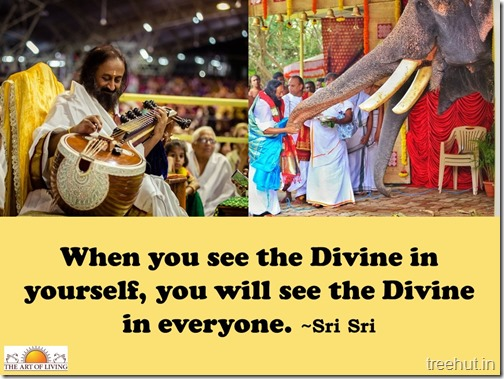 Knowledge quotes wallpaper by sri sri Ravi Shankar (6)