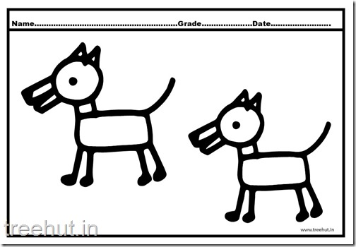 Dog and Puppy Coloring Pages (3)