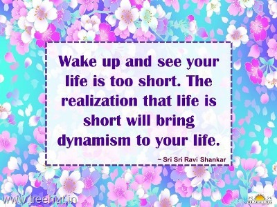 quote on dynamism-by-sri-sri-ravi-shankar