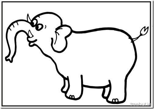 printable big elephant coloring pages (1)