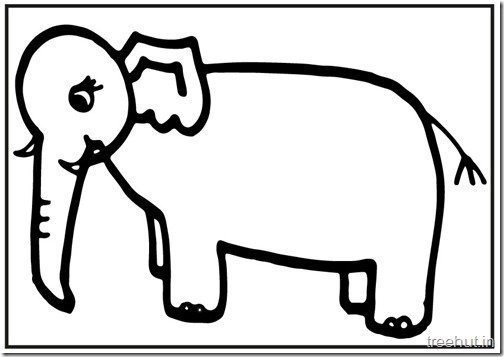 printable big elephant coloring pages (4)