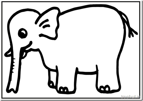 printable big elephant coloring pages (6)