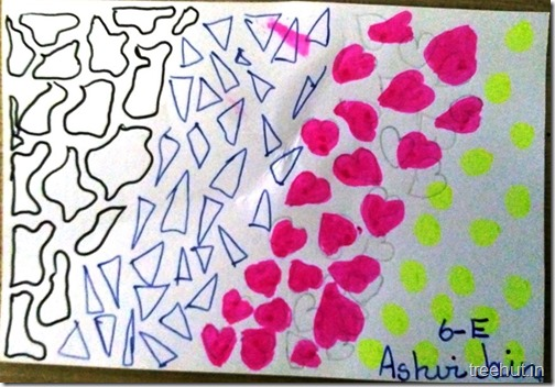 Child Art, Pattern Art by kids (35)