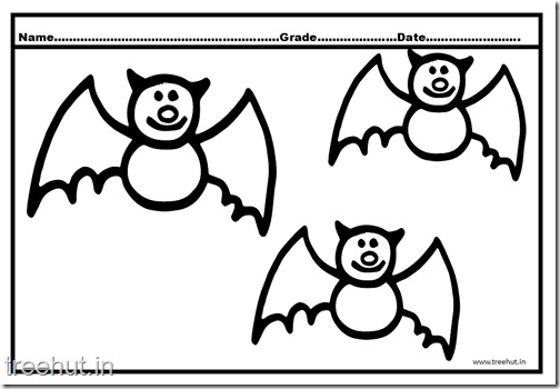 bat coloring pages (3)