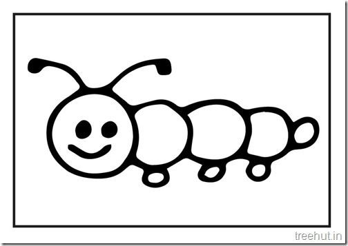 Butterfly Caterpillar Coloring Pages (7)
