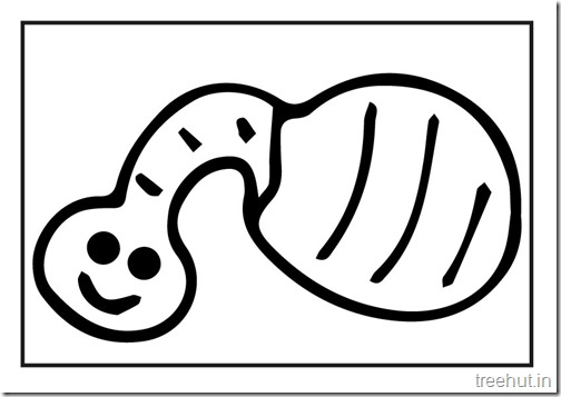 Butterfly Caterpillar Coloring Pages (8)