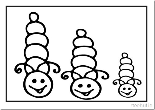 Butterfly Caterpillar Coloring Pages (9)