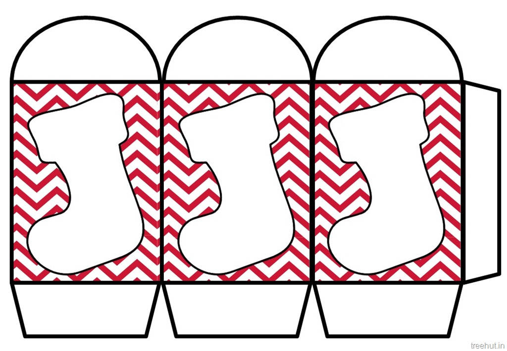photo regarding Christmas Stocking Printable called Coloured Printable Xmas Paper Lantern Template