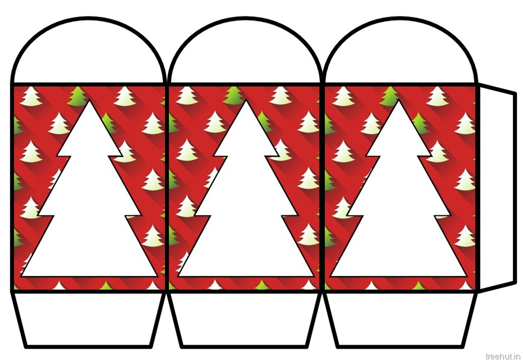 Colored printable christmas paper lantern template for Chinese lantern template printables