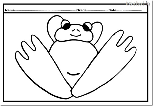 Frog Coloring Pages (4)