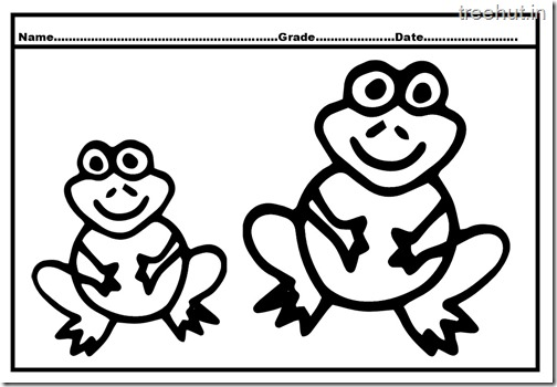 Frog Coloring Pages (6)