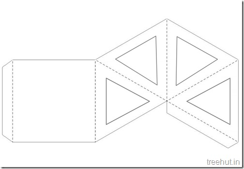 Diwali Christmas Craft Paper Lantern Template (2)