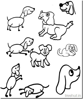 Dog Coloring Pages (4)