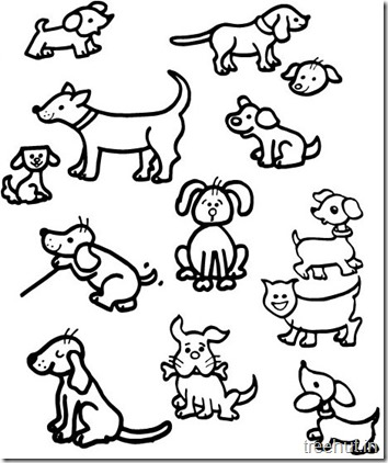 Dog Coloring Pages (5)
